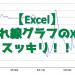 【Excel】折れ線グラフでX軸をスッキリさせる方法